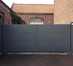 Photo portail gamme contemporaine
