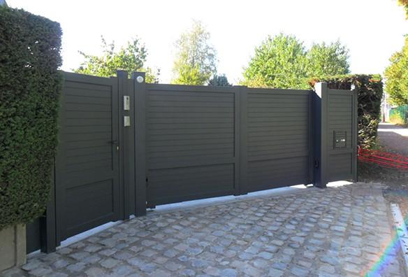 Photo portail noir