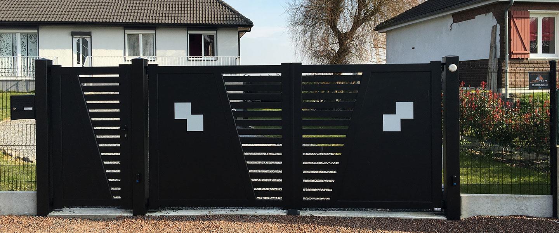 maison portail motorise