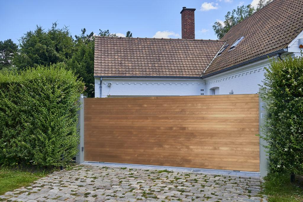 Portail bois sherwood Newtech